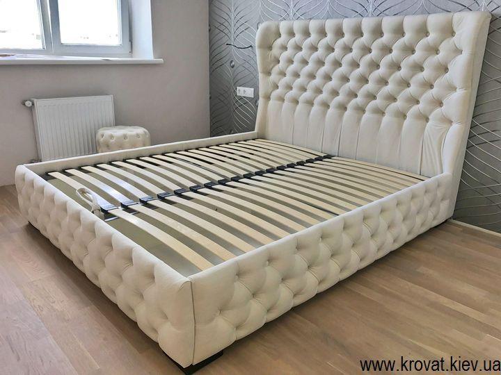 кровать в спальню с капитоне