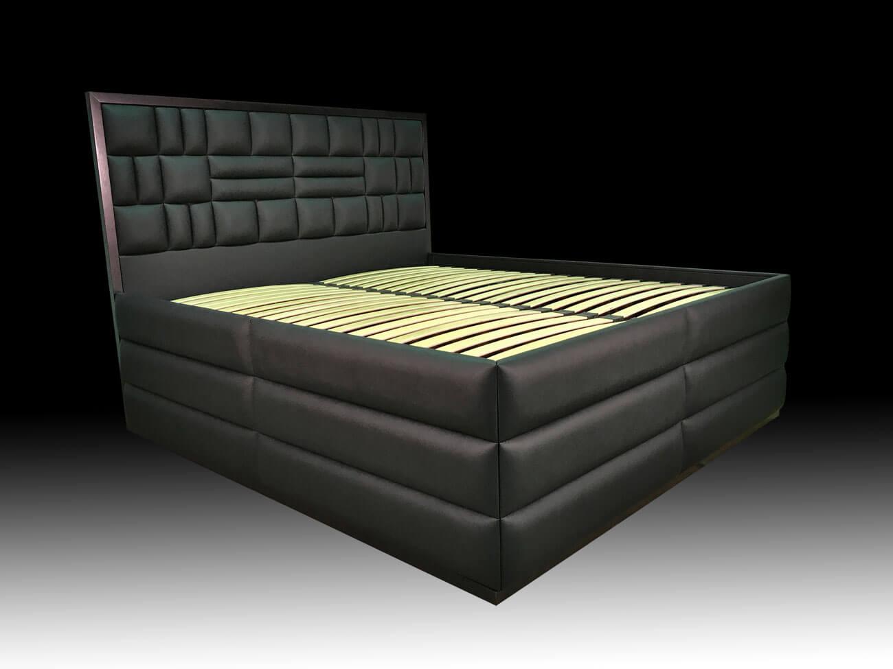 кровать с высоким спальным местом с подъемным механизмом