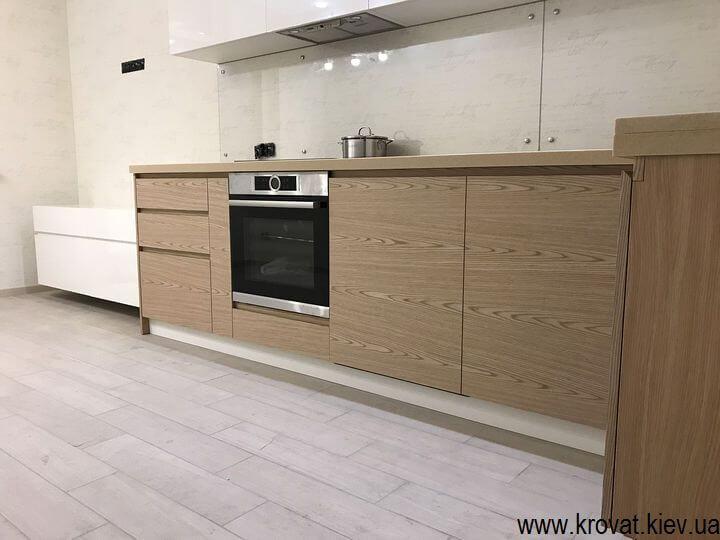кухня с электроприводом servo drive