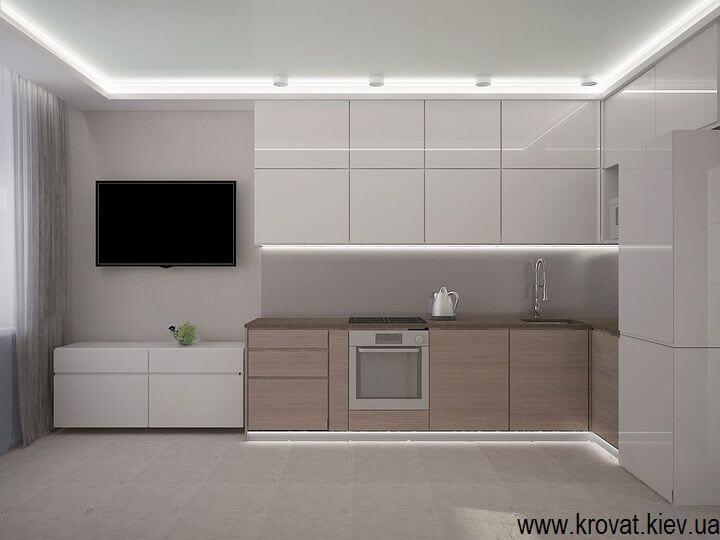 дизайн проект по кухне servo drive в 3d