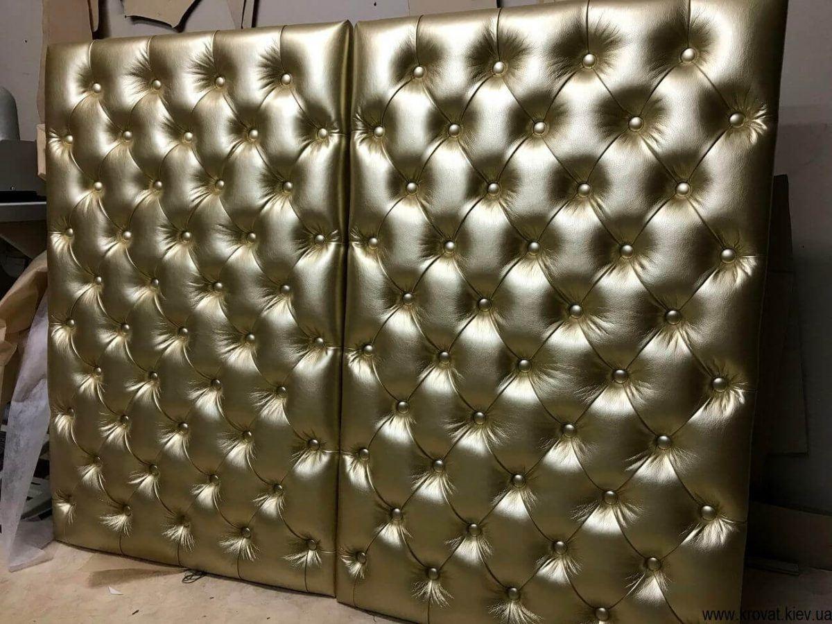 декоративні м'які стінові панелі на замовлення