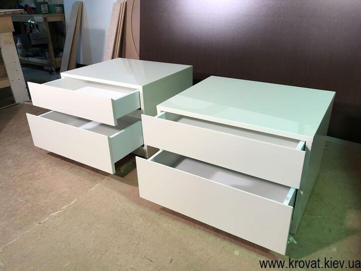 выдвижные ящики с направляющими блюм