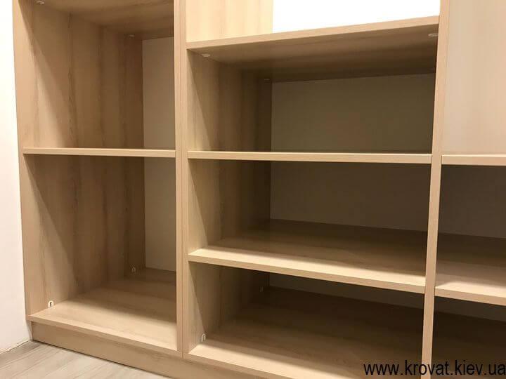 гардеробная комната в кладовке по размерам