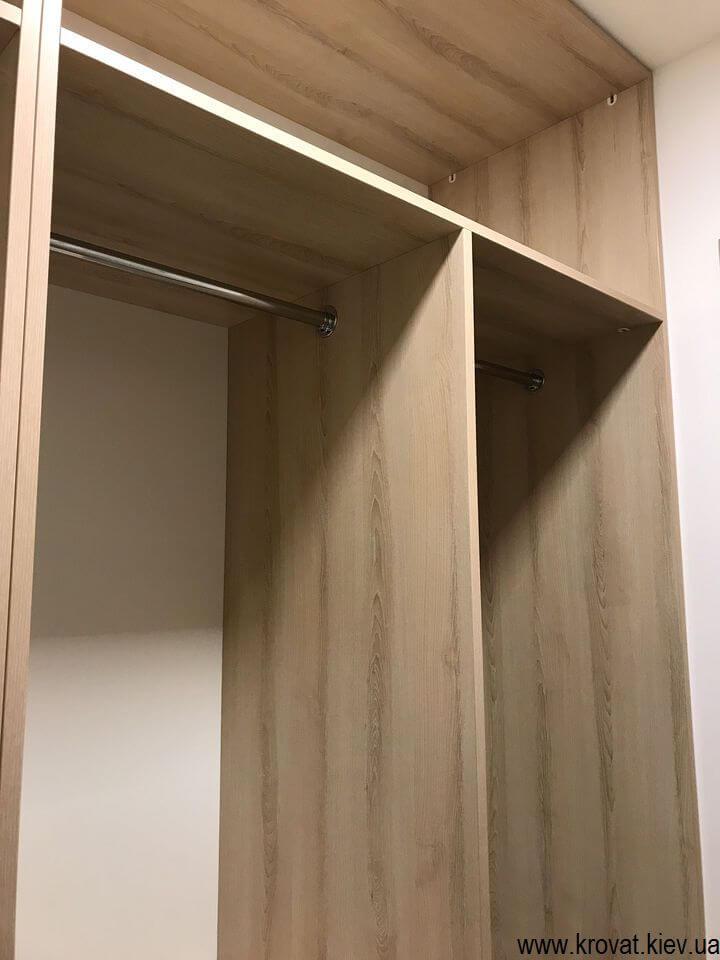 гардеробная комната в кладовке на заказ