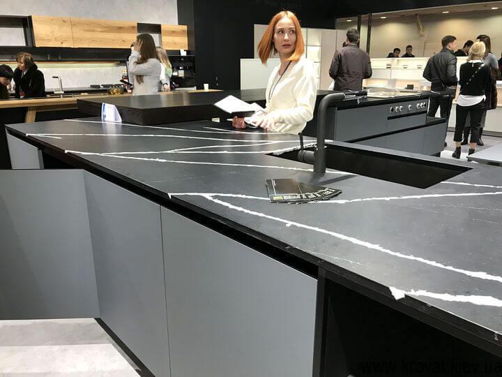 кухонная мебель на выставке kiff 2018