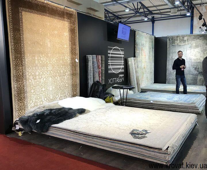 ковры на выставке в Киеве