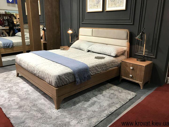 современная кровать в спальню