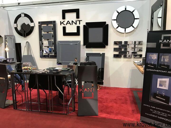 декор на выставке мебели в Киеве
