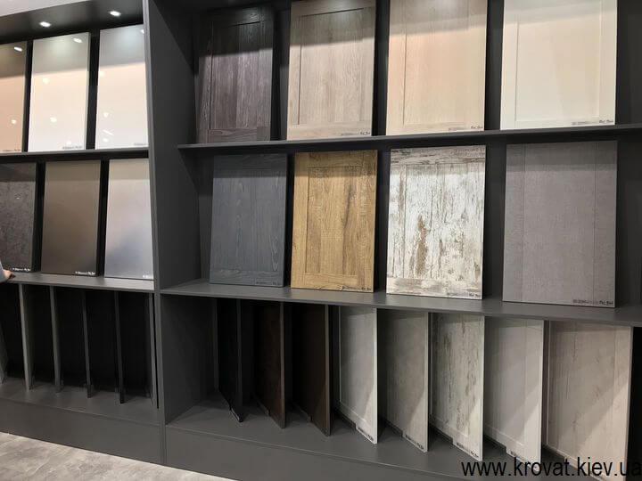 мебельные фасады на выставке мебели