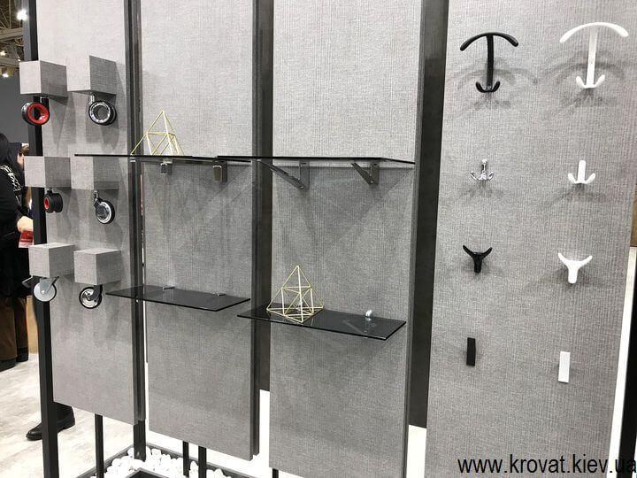 мебельная фурнитура на выставке в Киеве