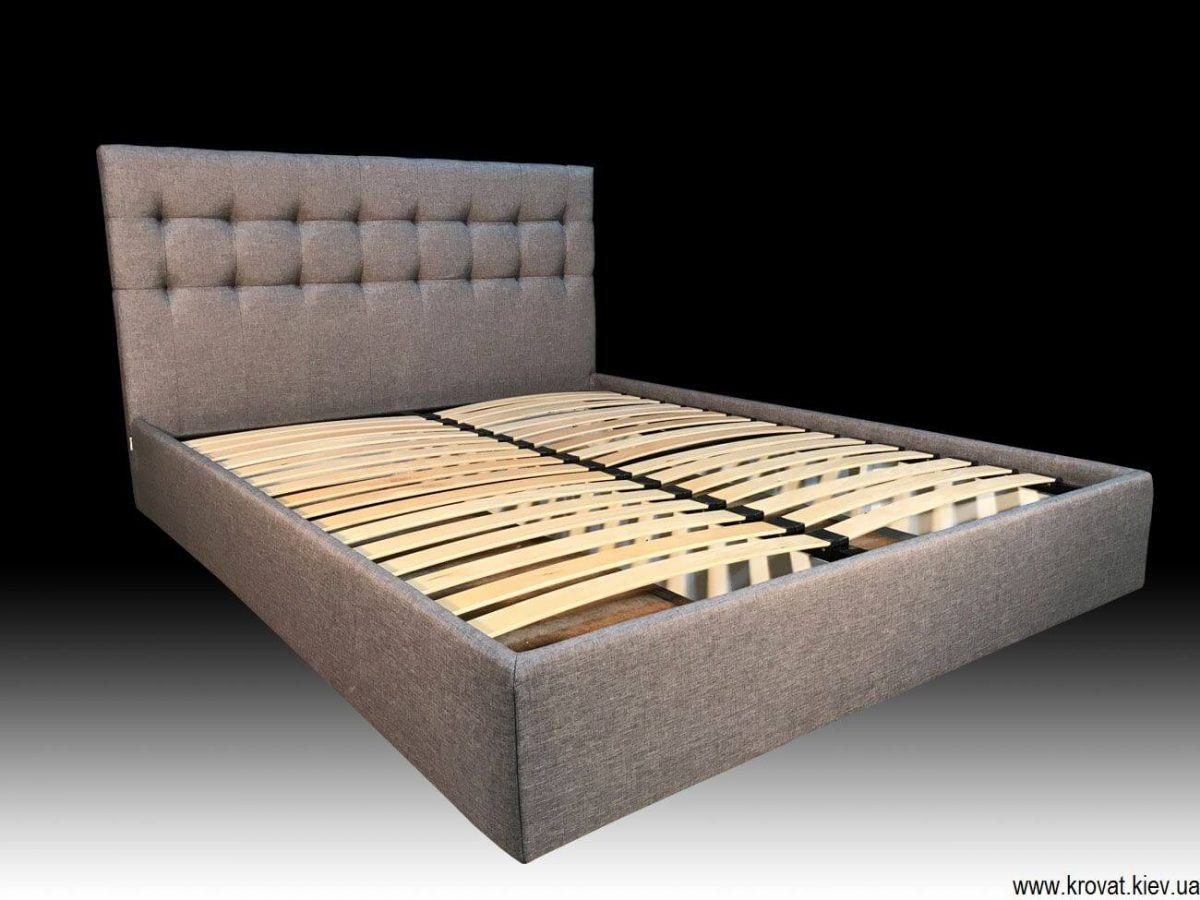 кровать с мягкой обивкой на заказ