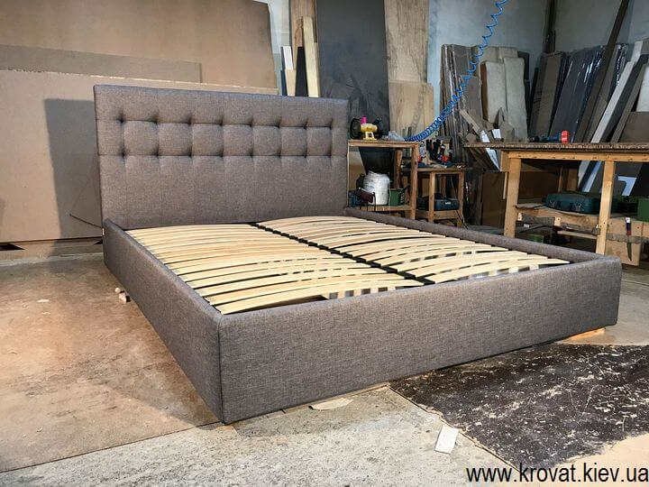 кровати с мягкой обивкой на заказ