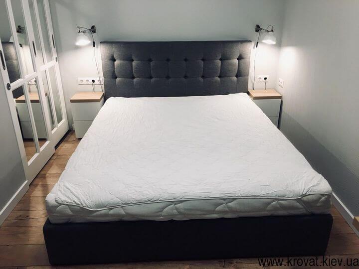 дизайн ліжка в спальню