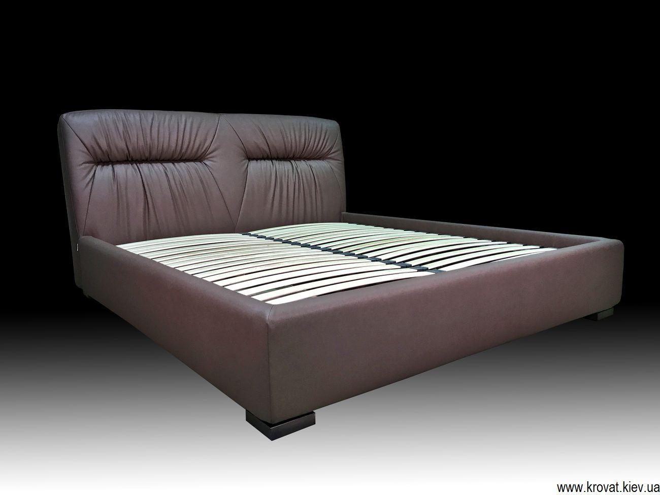 кровать с мягким изголовьем с подъемным механизмом