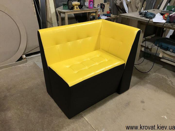 кухонный диван с утяжками на заказ