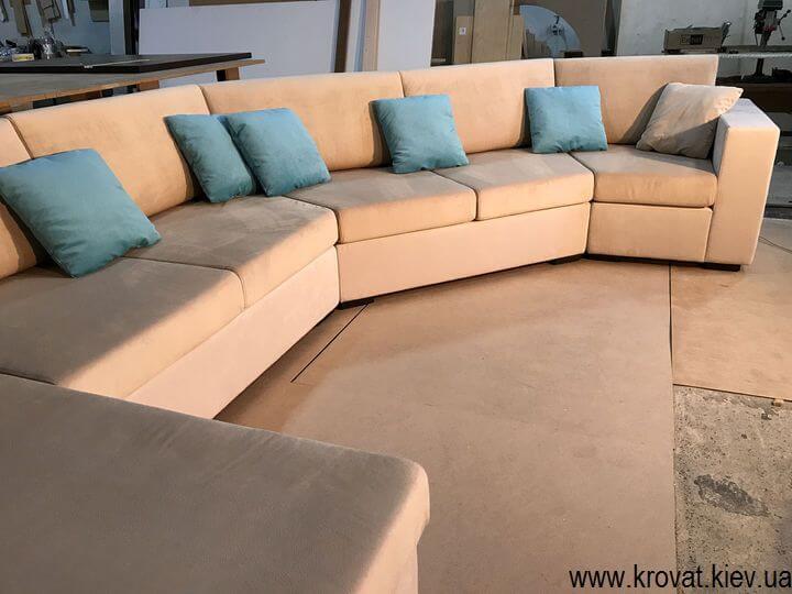 диван с углом под заказ