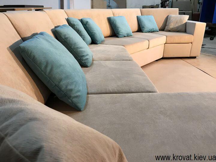 нестандартный угол дивана