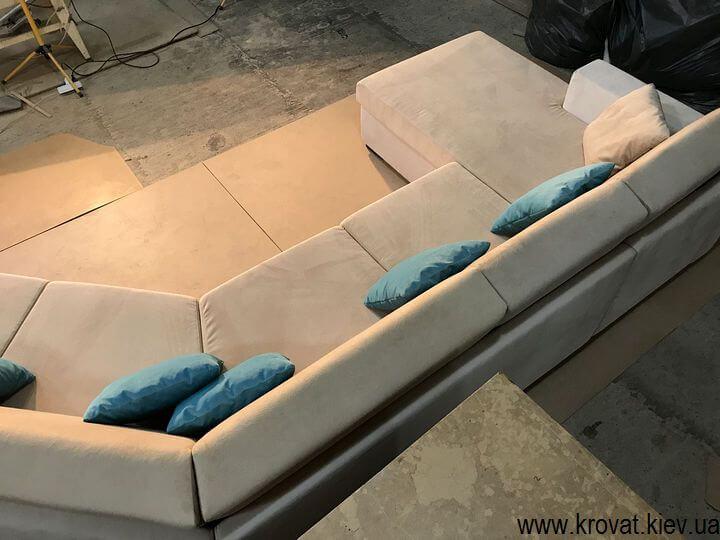 диван з підлокітниками на замовлення