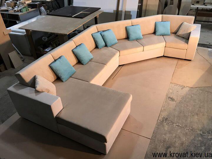 нераскладной угловой диван