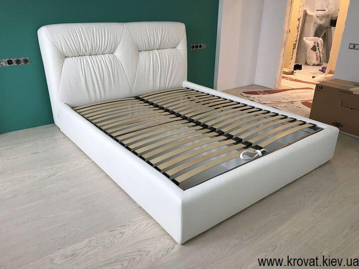 біле ліжко на замовлення