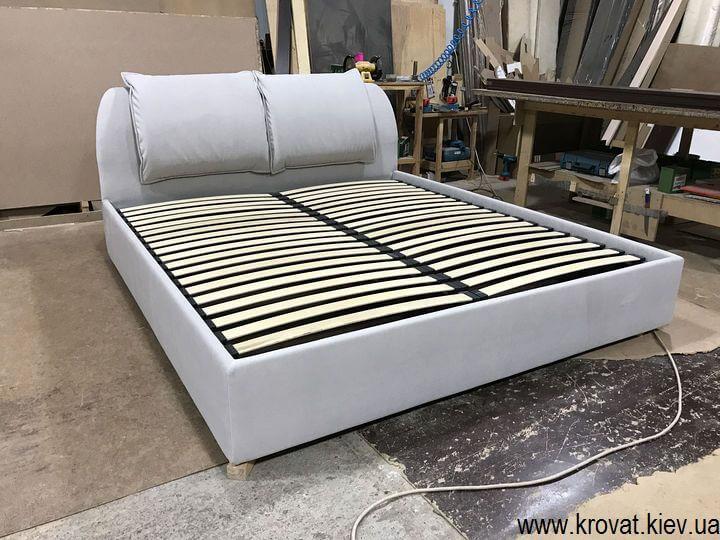 подушки на спинке съемные из ткани
