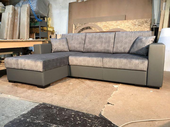 розкладний кутовий диван з механізмом пума на замовлення