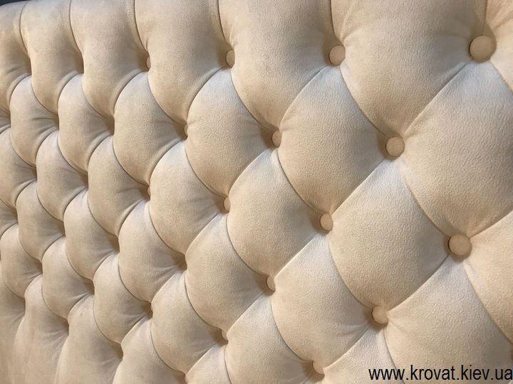кровать в белом цвете на заказ