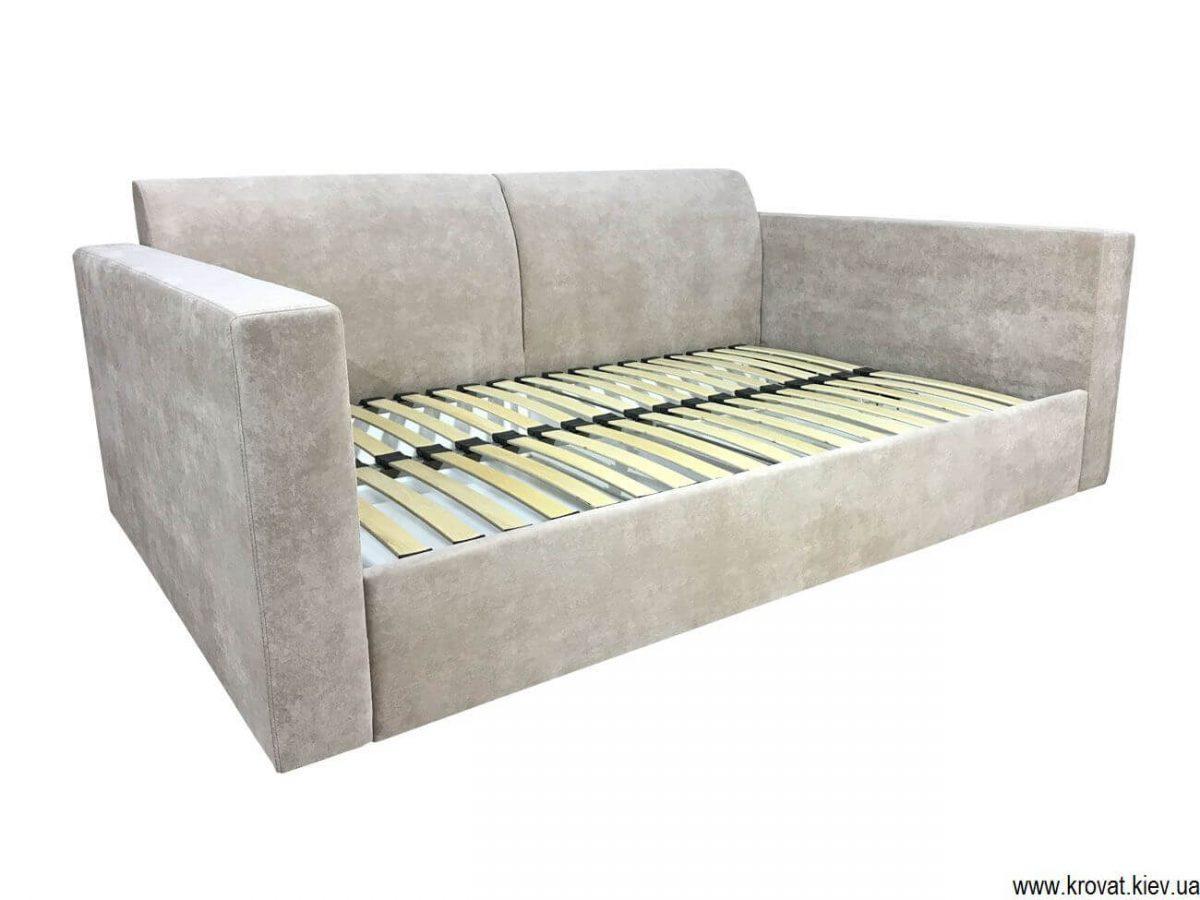 диван-ліжко з рівним спальним місцем