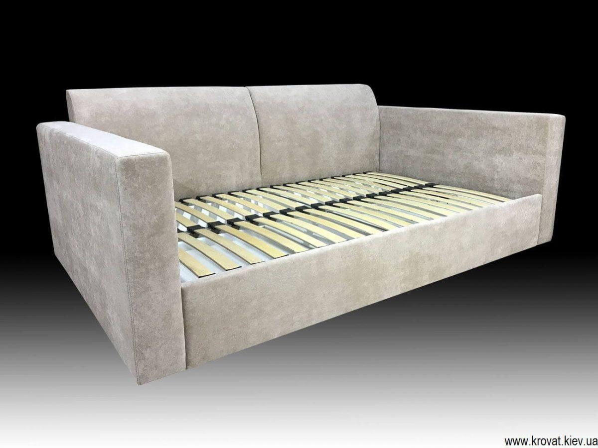 диван-кровать с ровным спальным местом на заказ