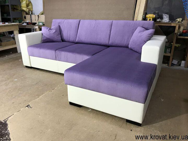 угловой диван с механизмом пума на заказ