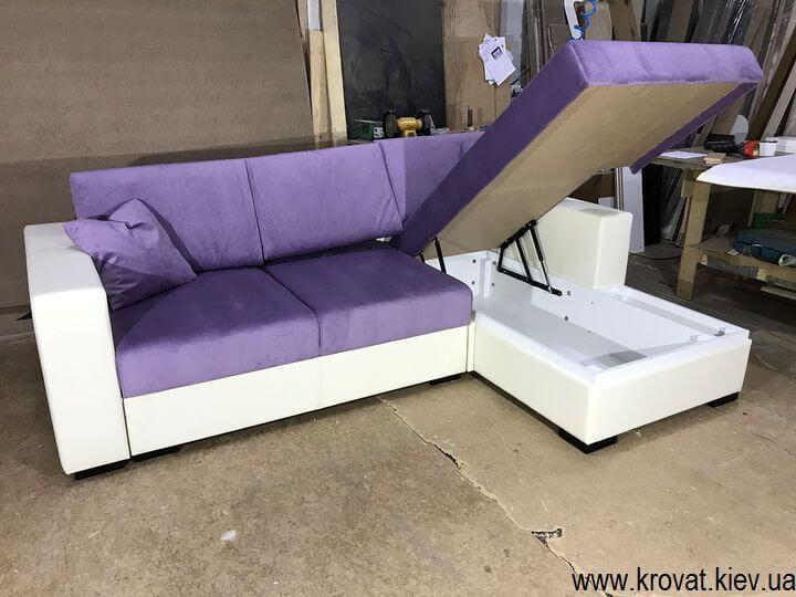 раскладной диван с механизмом пума на заказ