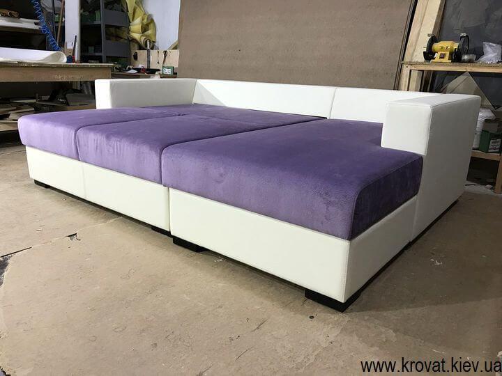 угловой раскладной диван на заказ