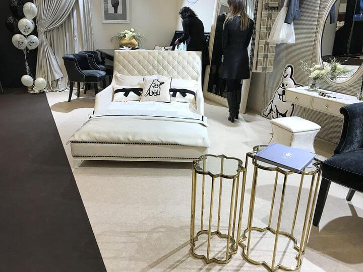 итальянские кровати в Киеве на выставке