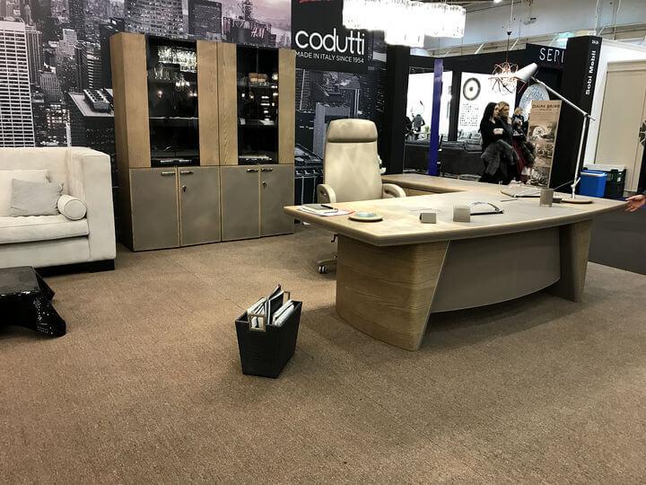 элитная итальянская мебель для офиса codutti