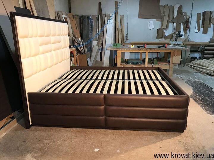кровать с высоким спальным местом на заказ