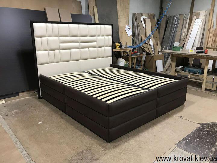 виробник великих двоспальних ліжок на замовлення