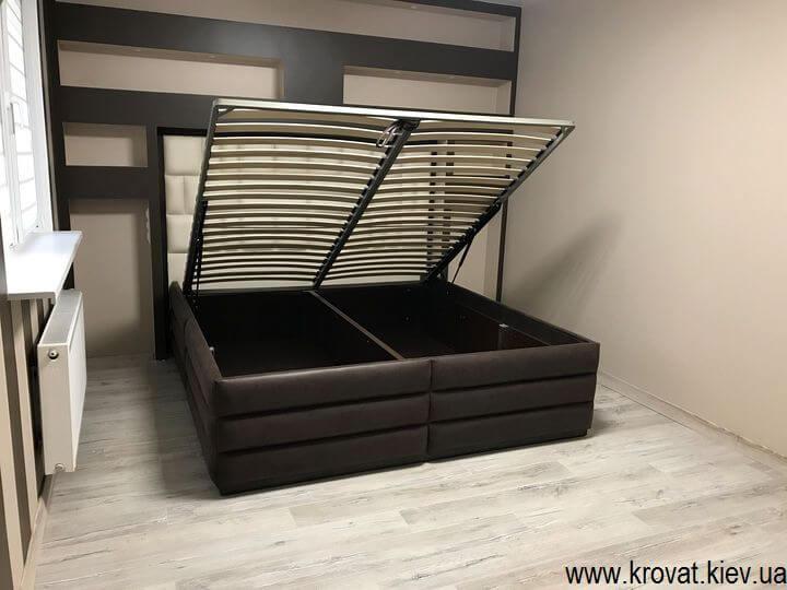 кровать американского типа с подъемным механизмом на заказ