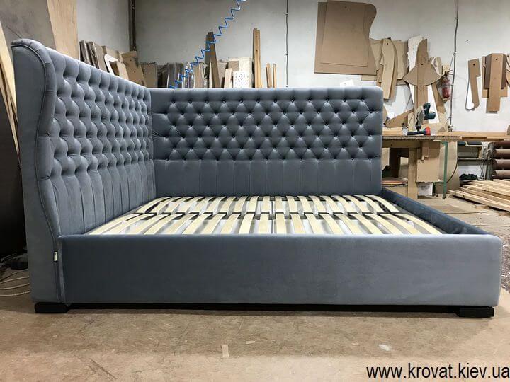 двоспальне ліжко в кут кімнати на замовлення