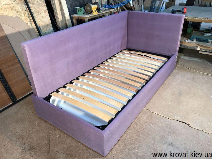 односпальная угловая кровать