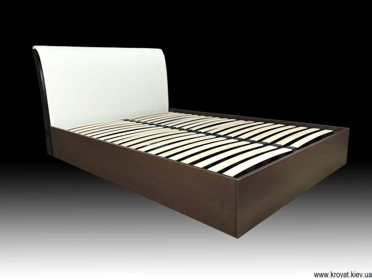 двуспальная кровать 140х200 с подъемным механизмом на заказ