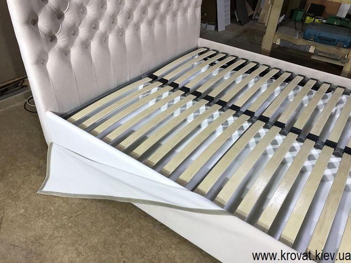 кровать со съемным чехлом на липучках на заказ