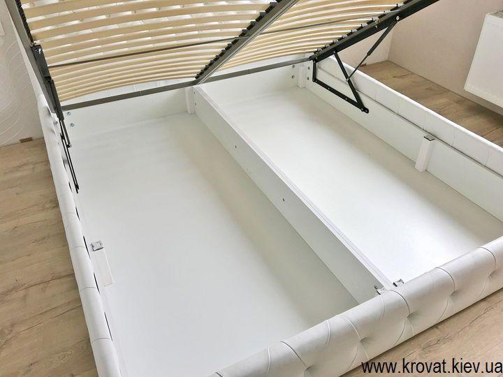 кровать с ящиком для белья на заказ