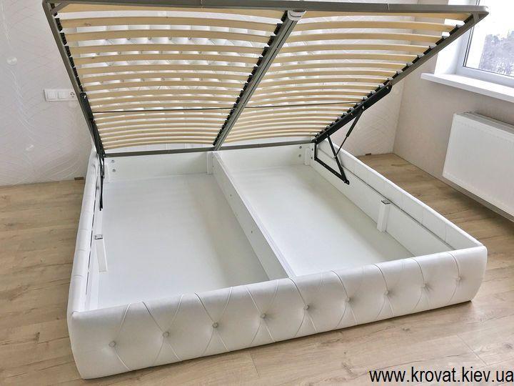 кровать без ножек с ящиком на заказ