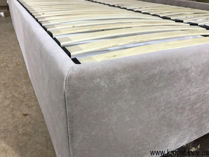 кровать в ткани на заказ