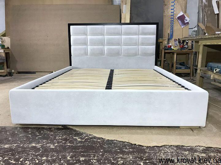 двуспальная кровать с ящиком на заказ