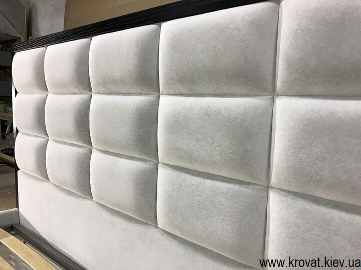 спинка кровати с прямоугольниками на заказ