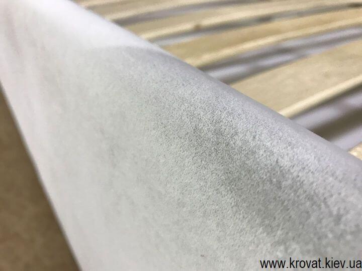 кровать из ткани на заказ