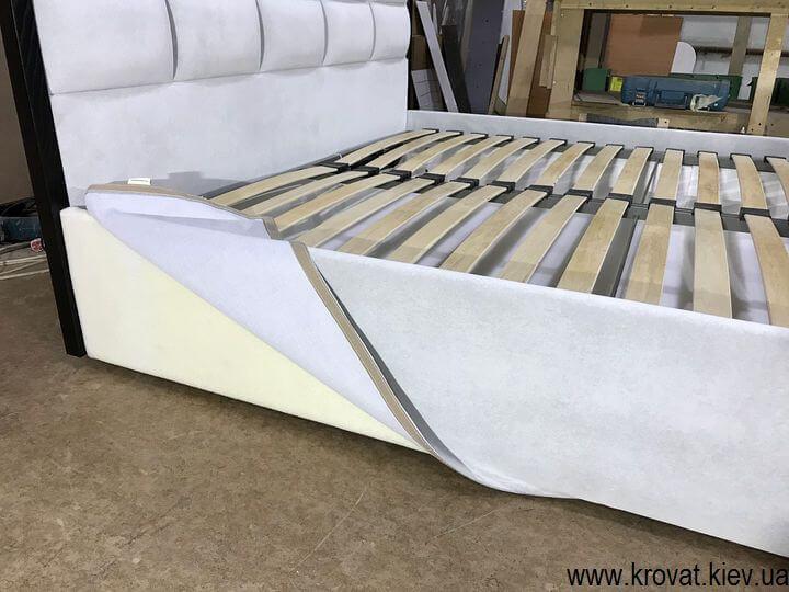 подиум кровати со съемным чехлом на липучках