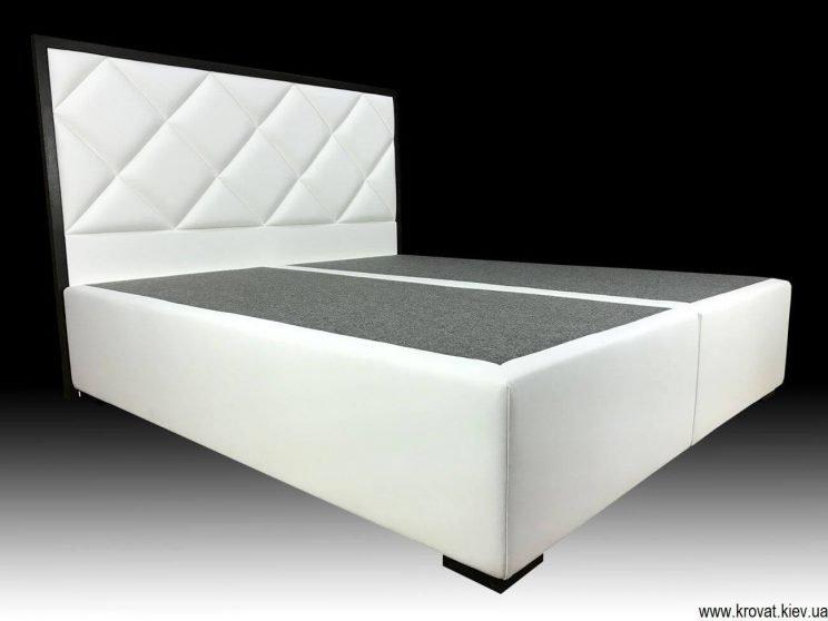 современная двуспальная кровать на заказ