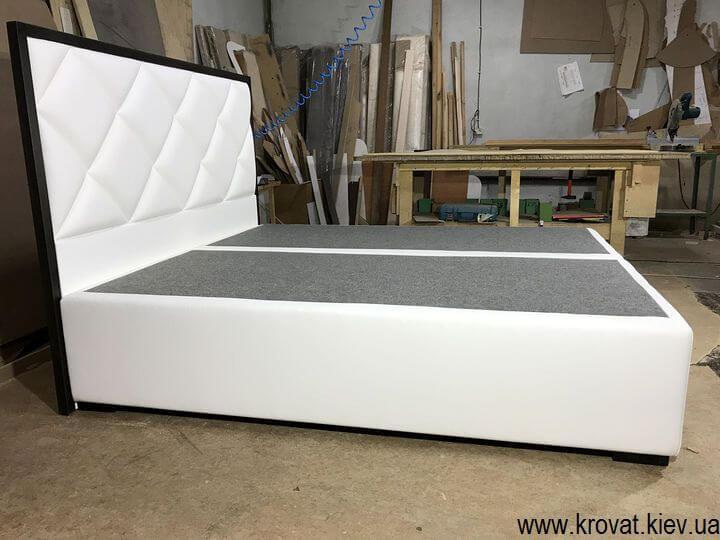 двуспальная современная кровать на заказ